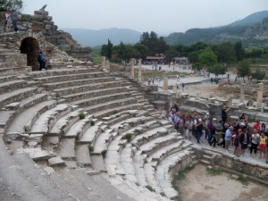The Amphitheater at Ephesus